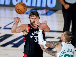 #NBA Raptors aprovechan hundimiento moral de Celtics y empatan la serie