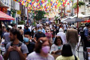 Reino Unido sopesa otro confinamiento ante la aceleración del coronavirus
