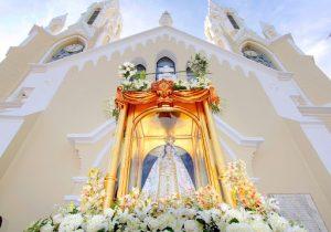 A puertas cerradas bajó de su nicho la Virgen del Valle en Nueva Esparta