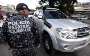 250 vehículos fueron retenidos durante la segunda semana de septiembre en toda Venezuela
