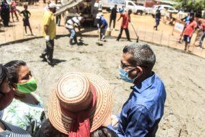 Inician trabajos de instalación de tanque de agua para comunidad indígena en Maracaibo