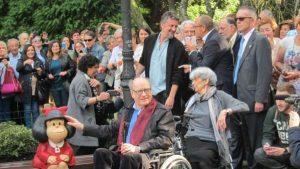 Quino será homenajeado con una placa conmemorativa en la plaza del centro de Madrid