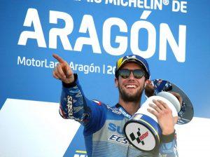 #MotoGP Rins logra su primer triunfo y Mir el liderato