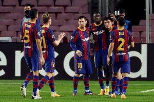 El Barça inicia con goleada el camino hacia su redención europea