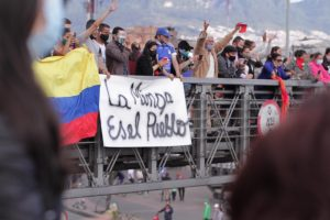 Al son de música llegó la Minga Indígena a la Plaza  Bolívar de Bogotá