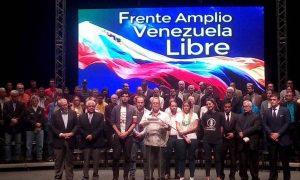 Frente Amplio reitera su compromiso por lograr «elecciones libres»