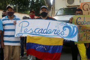 Pescadores del Zulia exigen al Gobernador Omar Prieto solución a la falta de combustible