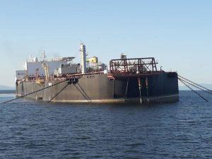 Iniciaron estabilización del buquetanque «Nabarima», pero persisten problemas técnicos en la embarcación