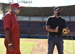 El estadio «Antonio Herrera Gutiérrez» de Barquisimeto recibe inspección de la MLB