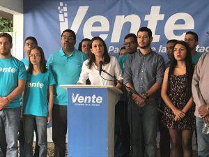 Vente Venezuela sobre la consulta popular de la AN: «No hay más tiempo que perder»