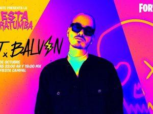 J Balvin dará  concierto en Fortnite este 31 de octubre