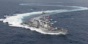 Venezuela denuncia presencia de un buque destructor estadounidense cerca de sus costas