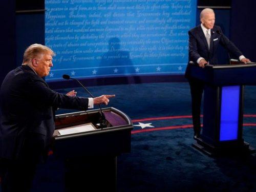 Tras alboroto del primer debate, Trump y Biden se vuelcan a batalla por estados clave de EEUU
