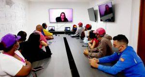Vicepresidenta del PSUV Tania Díaz juramentó Comando de Campaña Comunicacional «Darío Vivas» Zulia
