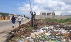 Alcaldía de Lagunillas realizó operativo de fiscalización de terrenos baldíos en el eje Hospital
