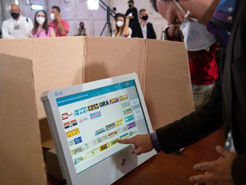 Simulacro electoral de cara a los comicios parlamentarios se efectuará el 25 de octubre