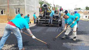 Inician Plan de Asfaltado de la avenida Bella Vista en Maracaibo