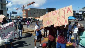 Protesta por gasolina en Lara es reprimida por cuerpos de seguridad