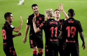 #LaLiga La Real Sociedad, sexto líder en seis jornadas