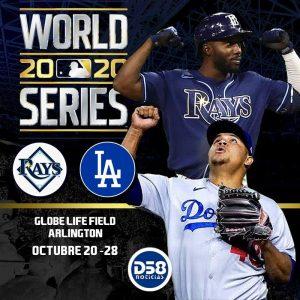 #MLB Dodgers y Rays por la gloria de octubre