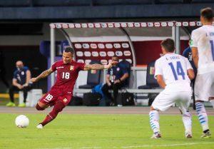 Venezuela cae en casa ante Paraguay en su segundo partido de las eliminatorias Qatar 2022