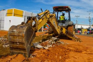 Inician la construcción de la plaza Bolívar al oeste de Maracaibo