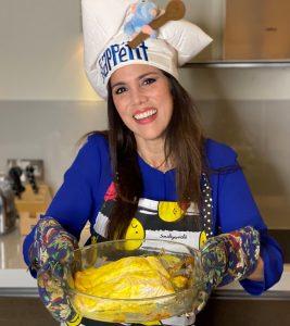 Janín Barboza invita a cocinar y cenar en Navidad