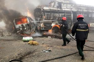 Accidente de tráfico causa 13 muertos y 15 heridos en Punjab, Pakistán