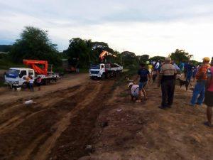 Corpozulia, Gobernación, Alcaldías del Sur del Lago  y productores coordinan reparación del muro de contención