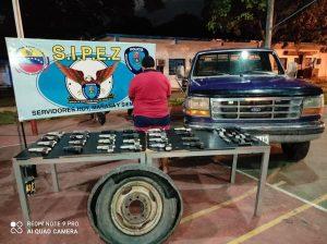 Detiene a hombre por tráfico ilícito de 25 armas en Maracaibo