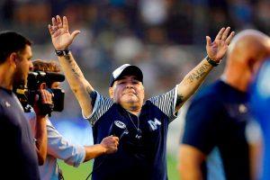 Diego Armando Maradona pierde el partido de su vida