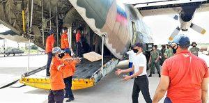 Gobernación del Zulia recibió 13 toneladas de insumos para atender familias afectadas por las lluvias