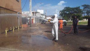 Intensifican jornadas de desinfección en Jesús Enrique Lossada