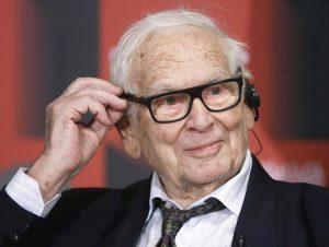 Muere diseñador francés Pierre Cardin a los 98 años