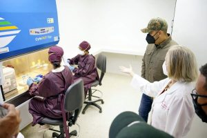 Puesto en servicio Laboratorio de Biología Molecular del estado Zulia