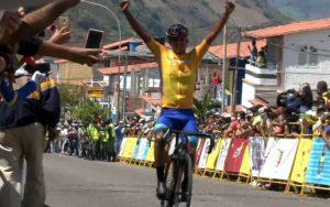Roniel Campos repite victoria y consolida su liderato en la Vuelta al Táchira