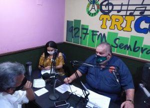 Alcalde de Lossada estrenó programa de radio
