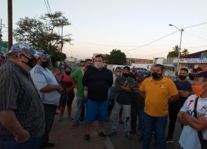 Realizan despliegue de seguridad en Lossada por casos de Covid-19