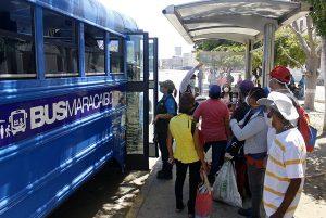 Arrancó la Ruta 8 de Bus Maracaibo con el sistema de cobro automático