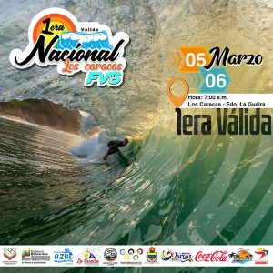 Se viene la «1ª Válida Nacional de Surf 2021»
