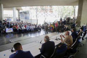 Asamblea Nacional sostuvo encuentro con trabajadores venezolanos