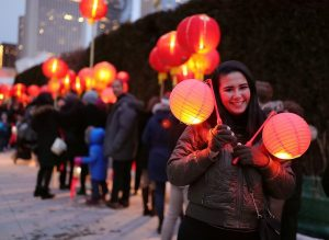 Miles de personas alrededor del mundo celebran el Año Nuevo chino