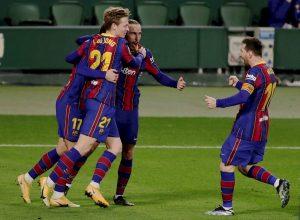 #LaLiga: El Barça remonta con la entrada de Messi