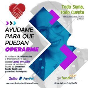 Una mano amiga para Michelle González