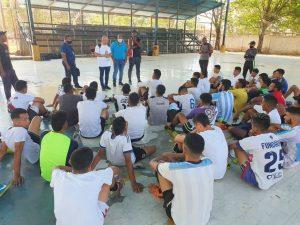 Brillantes de Maracaibo Futsal realizó captación de talento
