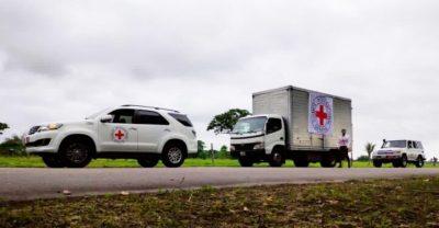 El CICR lleva ayuda médica a un municipio venezolano afectado por combates