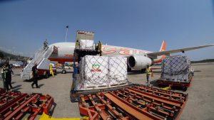 Arriba a Venezuela cargamento con 877 mil viales de insulina