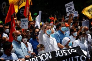 Guaidó llama a la ciudadanía a exigir soluciones a la crisis venezolana