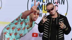 Bad Bunny arrasa y J Balvin se va vacío en los Latin American Music Awards