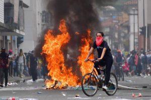 Diez venezolanos fueron detenidos en Cali por hechos vandálicos